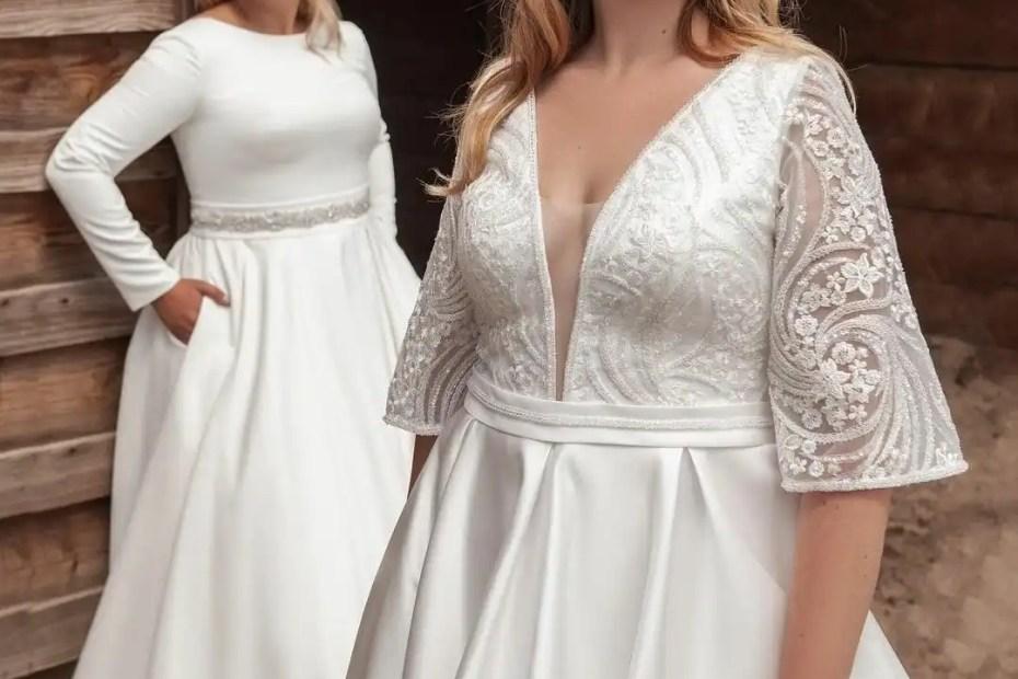abiti da sposa curvy 2021