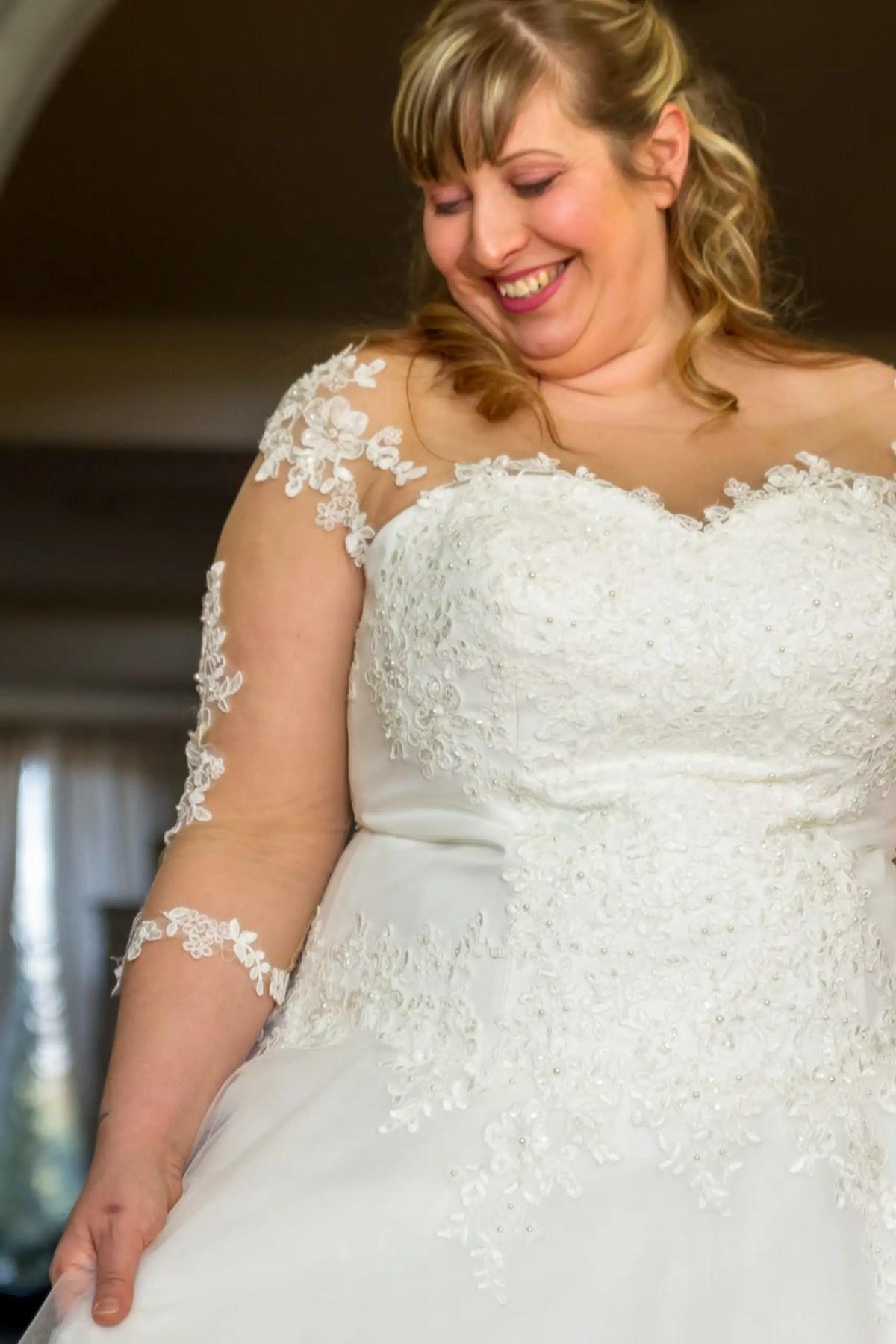 abito da sposa curvy