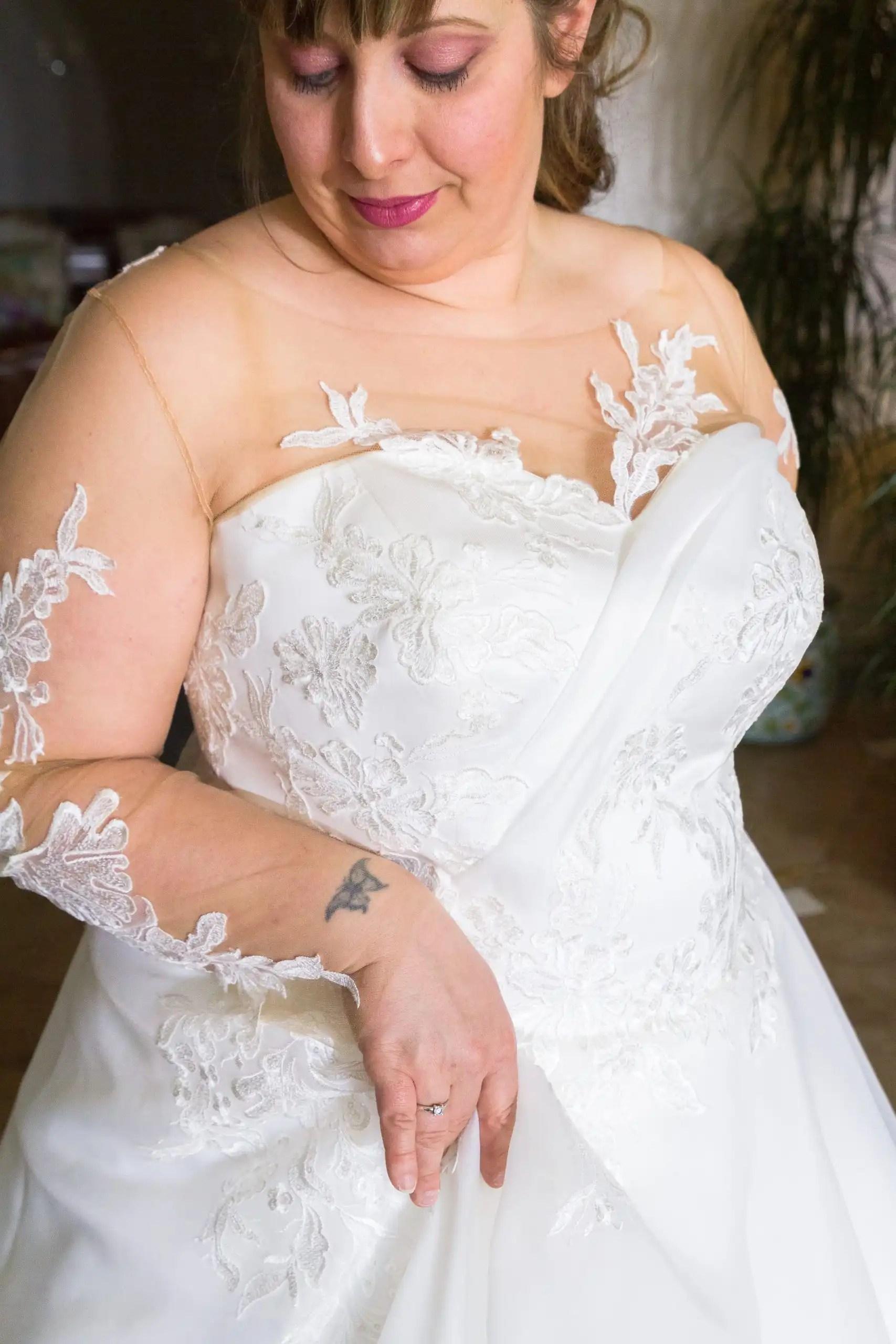 scollatura abito da sposa