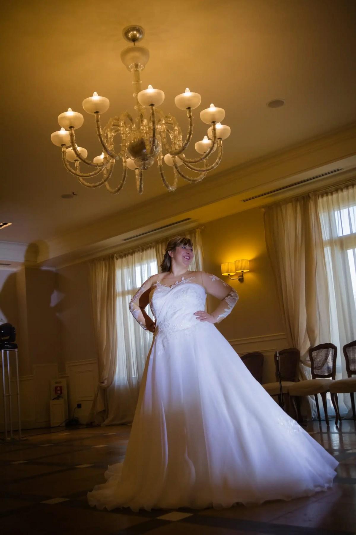 abiti per una sposa formosa