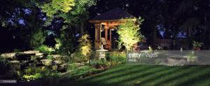 Light Up the Night with Landscape Lighting