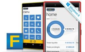 Immagine App Fineco x WP8