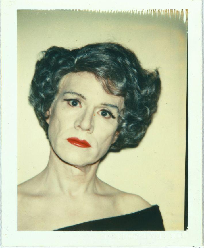 Self-Portrait in Drag