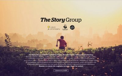 The story group_landing page