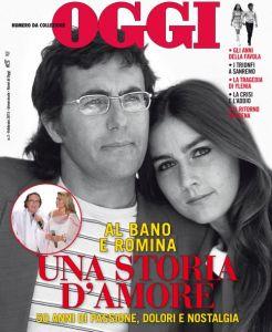 cover i nomi di OGGI - Al Bano e Romina