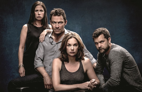 Maura Tierney as Helen, Dominic West as Noah, Ruth Wilson as Alison and Joshua Jackson as Cole in The Affair (Season 2). - Photo: Steven Lippman/SHOWTIME