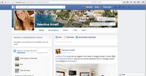 Profilo per le pr di B&B Amalfi