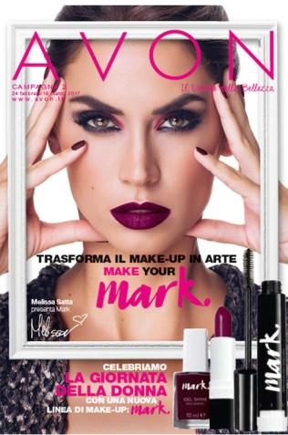 Melissa Satta cover catalogo