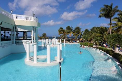 La meravigliosa piscina dell'Eden Village Premium Grand Palladium Jamaica Resort & Spa