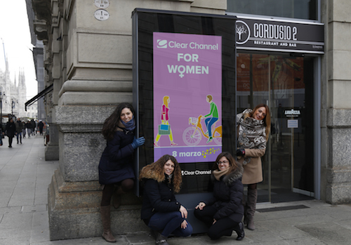 foto campagna corporate Festa della Donna