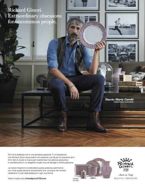 RICHARD GINORI - campagna pubblicitaria