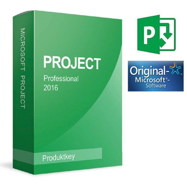 Microsoft Project Professional 2016 Pro Key for 1 PC Life Time License & UPDATE