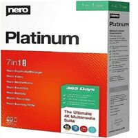 Nero Platinum 2020 Suite | Official Version | Lifetime License