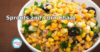The Foodie: Sprouts and Corn Chaat