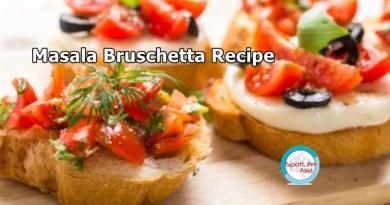The Foodie: Masala Bruchetta