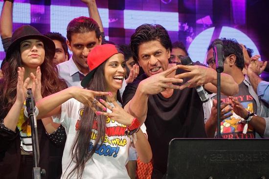 SRK-Lilly Singh