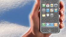 frozen iphone
