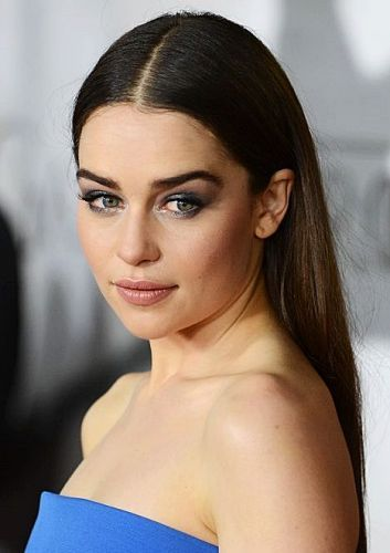 8 Emilia Clarke Brown Hair Color Ideas We Love Mother Of