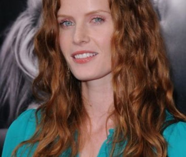 Rebecca Mader Long Wavy Red Hair For Older Women