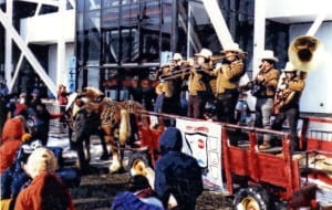 In 1980, Skip Parsons' Riverboat Jazz Band was hired by ABC to perform at several venues during the Winter Olympics in Lake Placid. Submitted photo