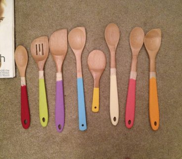 A few years ago I painted the handles of some bamboo kitchen utensils (a grown up alternative to the clay trivet you might have made and painted in elementary school). She loved them, and they were super easy. All you need is a selection of plain wooden utensils, some paint and a paint sealer to make them last. Maybe for Mother's Day you could let her wake up to a sparkling clean, and beautiful smelling, house. Made in the owner's kitchen here in Upstate NY, Tidy Thyme has some lovely organic household cleaners and linen sprays that smell amazing and look equally as adorable just sitting on the shelf. They can be bought at local shops such as All Good Things in Albany and at Anchor No. 5 Boutique in Troy. -Allison Fry (image, Alison Fry)