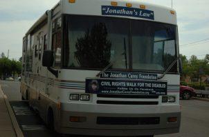 The Jonathan Carey Foundation Bus. Kassie Parisi/Spotlight News