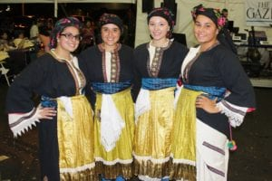 St. George Youth Dancers help teach festival-goers a bit of Greek tradition. Submitted photo