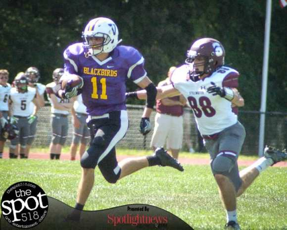SPOTTED: Voorheesville vs. Stillwater football 091716
