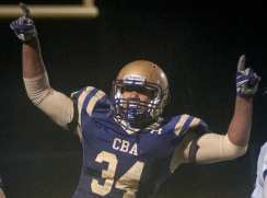 CBA defeats Columbia 55-22 in a Section II, Class AA quarterfinal matchup.