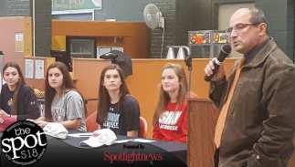National Letter of Intent signing day at Bethlehem Central High School Nov. 15. Photo by Rob Jonas/Spotlight