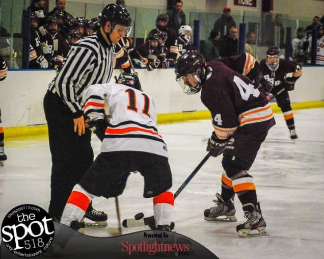 SPOTTED: Bethlehem vs. Burnt Hills/Ballston Spa in a Capital District High School Hockey League game Friday, Dec. 16, at the Bethlehem Area YMCA. Photo by Rob Jonas/Spotlight