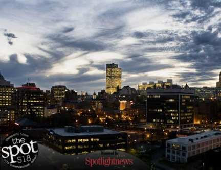 A look upon Albany's skyline at night. Photo by cam_and_dream24 / instagram