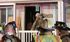 An electrical fire broke out in the second story of a Selkirk home Sunday, Jan. 22. Photo by Tom Heffernan Sr./Special to the Spotlight