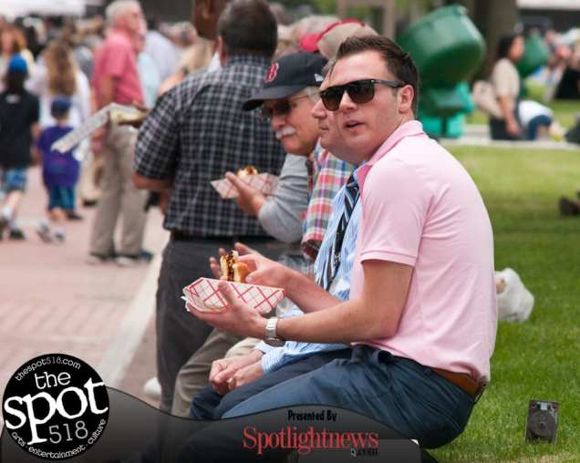 SPOTTED: The Big Takeover, Made in the Shade at The Egg on Wednesday, June 28