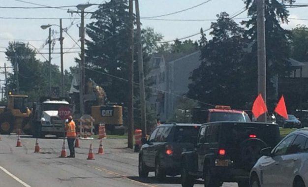 Improvement inconvenience impacting Delaware Avenue