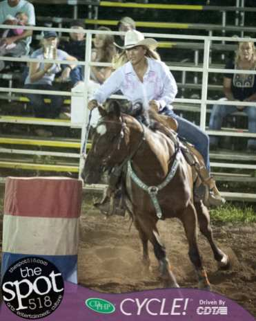 Spotted: Double M Professional Rodeo Aug 4 in Ballston Spa, NY.