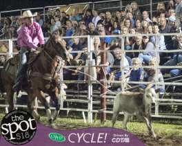 Spotted: Double M Professional Rodeo Aug 19 in Ballston Spa, NY.