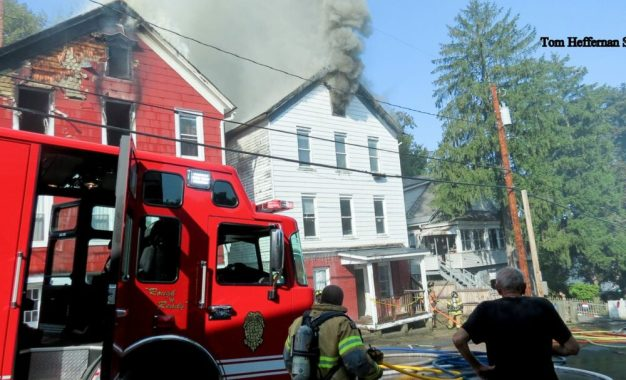 Fire damages three homes in Coeymans