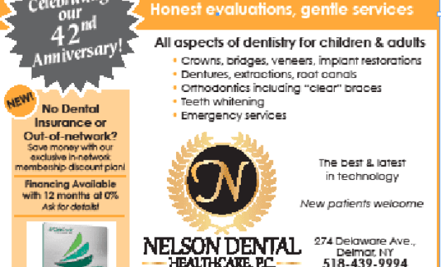 Nelson Dental Healthcare celebrates 42 years