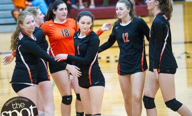 SPOTTED: The Scotties eliminate The Eagles in straight sets