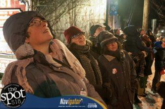 People enjoying fireworks during Bethlehem First Night last year on Dec. 31, 2017. Michael Hallisey / Spotlight News