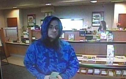 Colonie police search for bank robber