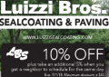 Luizzi & Bros. does paving right