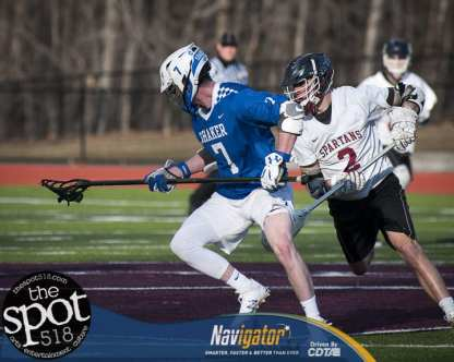 Shaker at Burnt Hills April 10, 2018 Boys Lacrosse.