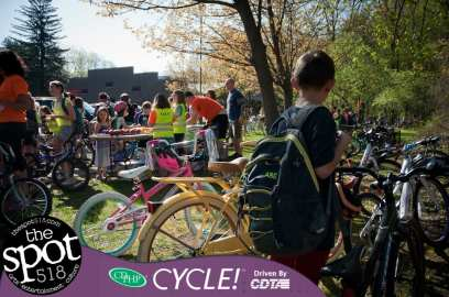 National Bike to School Day 2018 in Delmar