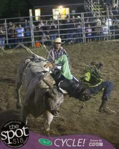 Double M Rodeo Friday night 2018. July 13 in Malta.
