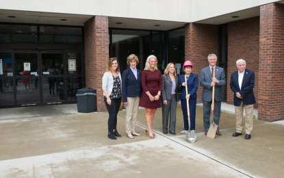 A novel idea: Ground broken on $4 million library renovation project