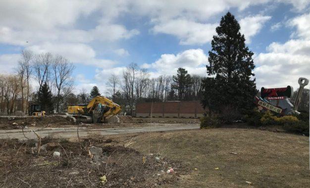 Sushi X demolished to make way for Cumberland Farms