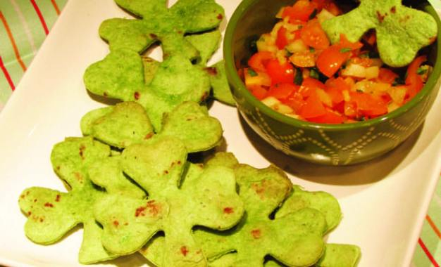 LET'S COOK: Shamrock snack a lucky treat