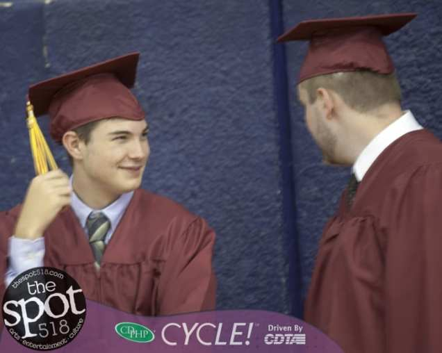 Spotlight News – SPOTTED: South Colonie 2019 graduation at